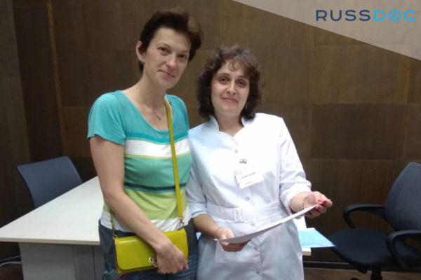 """Спасибо компании """"Русский Доктор"""", а особенно Юлии Голдиной!"""