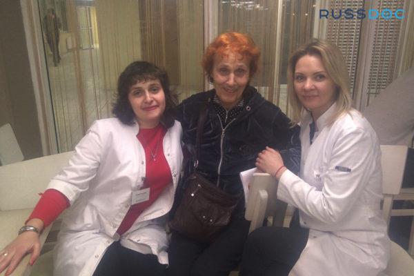 Отзыв пациентки с Украины о проделанной операции
