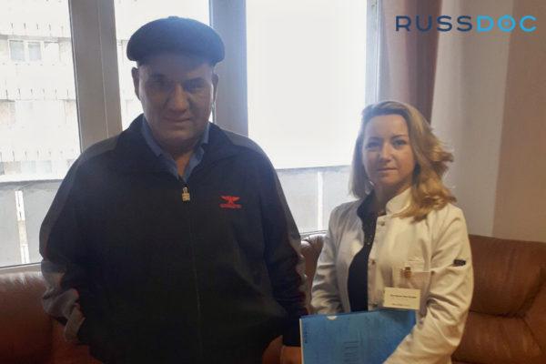 Отзыв пациента из Узбекистана, отделение химиотерапии